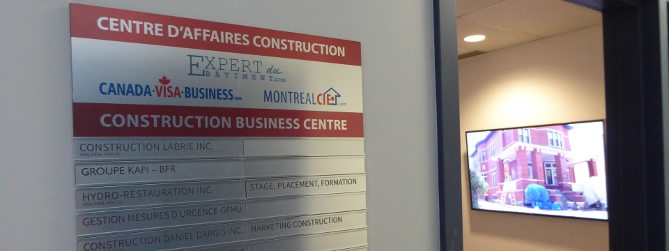 offices for rent and share in a montreal business center